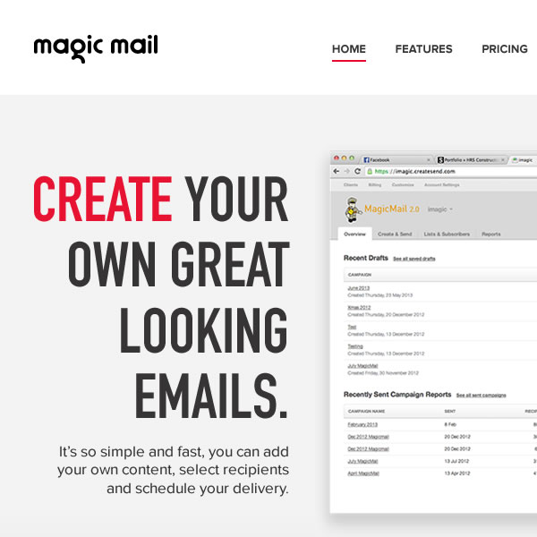 Magic Mail (Concepts)