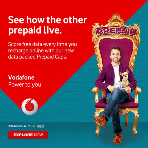 Vodafone Prepaid Campaign