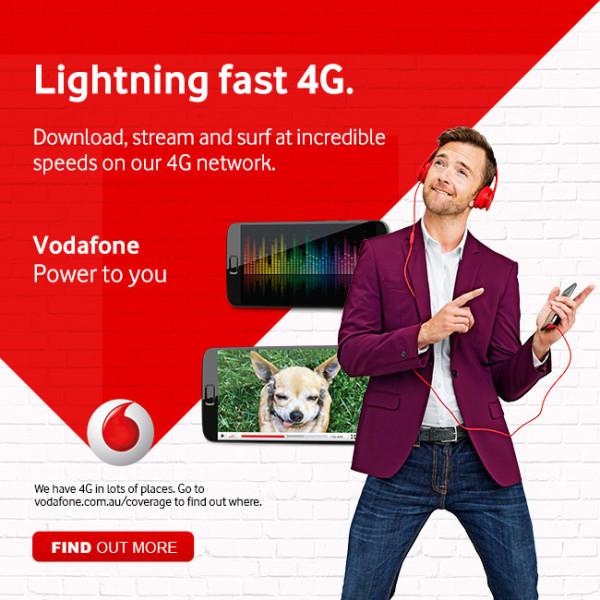 Vodafone Gmail Ads